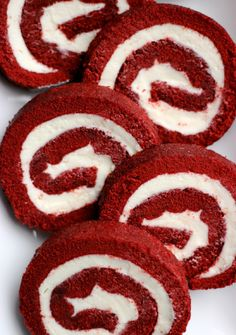 It's official. Cake rolls are the easiest, fanciest dessert to make. I mean, just take a look at this red velvet cake roll. Would you be...