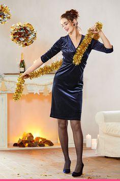 Nydelig fløyelskjole Blazer, Scale Model, Blazers