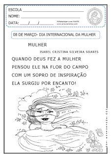 Alfabetizar com AMOR: Dia Internacional da Mulher