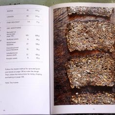 Tartine Book No. 3 by Chad Robertson--Sprouted danish sourdough rye