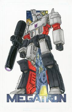 Megatron commission colours by *markerguru on deviantART - Transformers