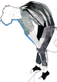 Cool illustrations by Henry Radford! Henry did these illustrations for Lanvin menswear Spring/Summer 2011 from a live model trained in ballet! Via trendland Illustration Art Drawing, Fashion Illustration Sketches, Fashion Sketchbook, Fashion Sketches, Drawing Fashion, Lanvin, Trends Magazine, Art For Art Sake, Sculpture