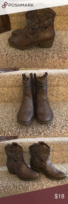 Ankle boots Well loved ankle boots only worn few times so Shoes Ankle Boots & Booties