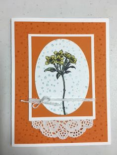 My Creative Corner!: Avant-Garden, 2017 Sale A Bration, Stampin' Up!, Rubber Stamping, Handmade Cards