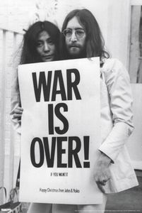 JOHN LENNON WAR IS OVER WALL POSTER