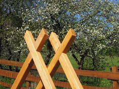 Tesařík zahradní: houpačka