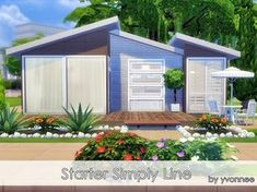 Starter Simply Line by yvonnee at TSR via Sims 4 Updates
