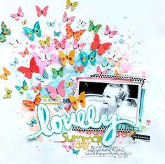 Clique AQUI.     Porque escolhi borboletas? Porque sei que todos amam decorar seus trabalhos com elas!   A borboleta é considerada o s...