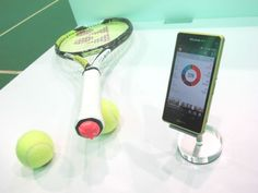 Sony has this week unveiled a new prototype it has created in the form of the new Sony Smart Tennis Sensor which has been designed to detects the racquet's movement through the air, as well as any vibrations when the racquet hits a ball.