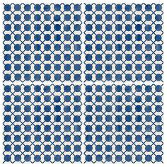 Kitchen & Bathroom Portuguese Dot to Dot Vinyl Tile by QUADROSTYLE