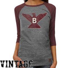 7bef49ddf adidas Boston College Eagles Ladies Supersize Fan Raglan Tee - Ash Middle  Tennessee State University,