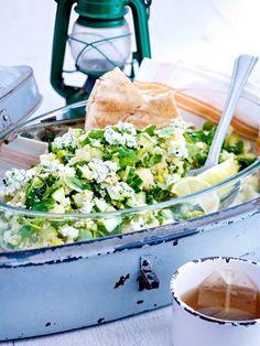 Ein aromatischer und schnell zuzubereitender Couscous-Salat! #salat #couscous