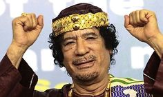 GADDAFI, described often by the media as half monster half clown.  THE LIBYAN Esther Kofod www.estherkofod.com