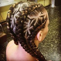 Dutch Braid Cornrows