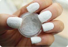 Velluto per unghie colore Bianco #beauty