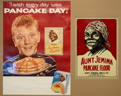 A poster from the 1950s or 1960s portraying the advertising icon Aunt Jemima is on display at the Hateful Things exhibit featuring items from Ferris State University's Jim Crow Museum of Racist Memorabilia at the Castle Museum of Saginaw County History, 500 Federal in Saginaw. The exhibit runs Feb. 9, 2016 through April 24, 2016.