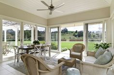 Definitely want an open sun room and deck so I can feel outside in all elements
