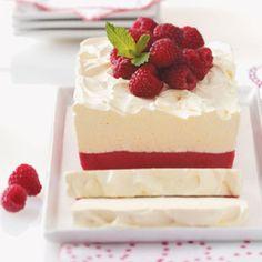 Low-Fat Raspberry Summer Sensation Recipe.  Uses raspberry sorbet!  Quick to prepare!