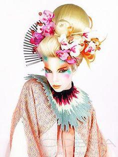 SUMMER'S GEISHA Fashion & Faces Photographic art on plexiglass Cobra Art Company