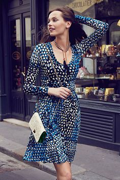 Dotscape Dress #anthropologie.... I may need this dress when I meet my weight loss goal... and when it goes on sale!!!!