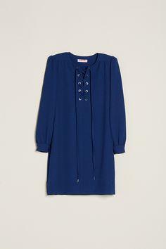 SEE BY CHLOE, Robe plastron lacet  #LeBonMarche #TBM #mode #fashion #femme #women #homme #men #maison #home #enfants #kids