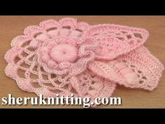 How to Crochet Floral Scrumble Tutorial 4 Part 2 of 2 Freeform Freeform Crochet, Crochet Art, Love Crochet, Crochet Motif, Crochet Stitches, Crochet Hooks, Crochet Flower Patterns, Crochet Designs, Crochet Flowers