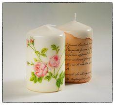 The Craft Factory Workshops - Decorating candles - Decoupage - Свещи с декупажна техника