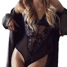 Underwear, PHOTNO Summer Beach Fashion Women Lace Backless Jumpsuit Swimsuit Bodysuit * More info could be found at the image url.