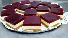 This Best Jelly Slice Recipe is a true crowd pleaser and it tastes every bit as good as it looks. You are guaranteed to love it. Get the details now. Jello Recipes, Baking Recipes, Cookie Recipes, Dessert Recipes, Desserts, Recipies, Jelly Slice, No Bake Slices, Digestive Biscuits
