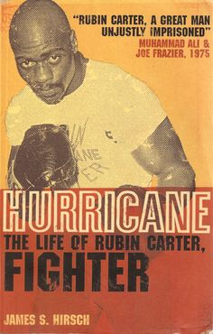 One of the many books about Rubin 'Hurricane' Carter.