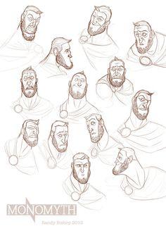 Randy Bishop - Character Design Page