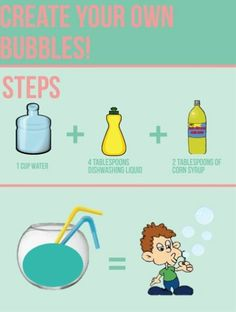 Create your own bubbles