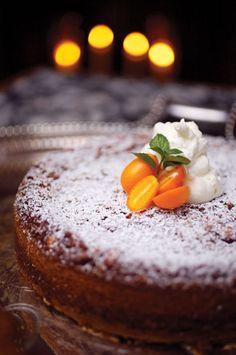 Persimmon Rum Cake