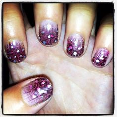glitter & pink !