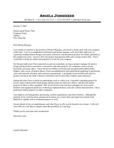 interior design internship cover letter