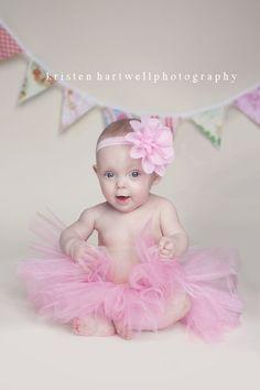simple, elegant baby girl photography
