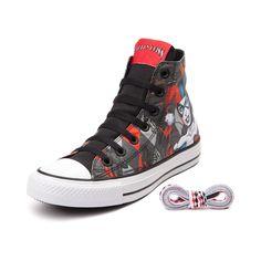 4fe92a8695d3 Converse Chuck Taylor All Star Hi Harley Quinn Sneaker Converse Chuck  Taylor All Star