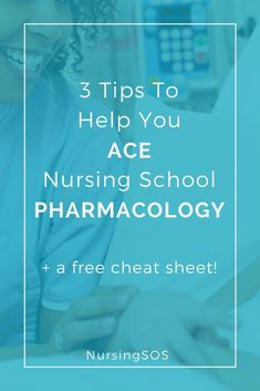 3 Tips To Help You Ace Nursing Pharmacology Click through to discover the easiest way to learn pharmacology in nursing school. Nursing School Scholarships, Nursing School Tips, Nursing Career, Nursing Students, Bsn Nursing, Nursing Uniforms, Nursing Scrubs, Student Nurse, Nursing Notes