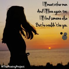 """""""He Wouldn't Be You"""" — poem from The Poetry Project. #ThePoetryProject"""
