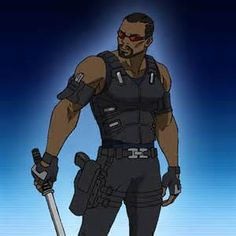 Blade Marvel - Bing Images Marvel Heroes, Marvel Comics, Character Concept, Character Art, Eric Brooks, Blade Marvel, Midnight Son, Day Walker, Black Characters