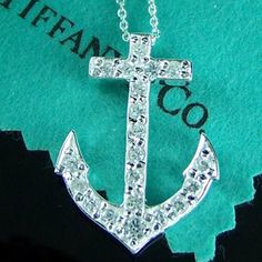 Tiffany & Co. Anchor Necklace, I need this Verde Tiffany, Azul Tiffany, Tiffany Blue, Tiffany Atlas, Lilly Pulitzer, The Bling Ring, Bling Bling, Mode Shoes, Do It Yourself Jewelry