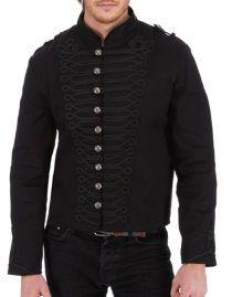 bf58065b53a2 large choix de vêtements gothiques hommes au meilleur prix · Veste Officier  ...