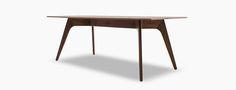 Hesse Wood Top Dining Table | Joybird