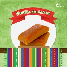 Natilla de Leche, disfruta y conoce el verdadero sabor de #México a través de sus dulces. #DulceAlma #VisitMexico