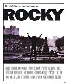 100 Greatest Films AFI posters   Movies In The Manroom: The AFI Top 100: No. 57 Rocky: Crawling Off ...