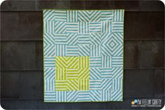 SkirtingTheIssue-Main-ImFeelinCrafty  she uses striped fabric!  And Quitl as you go! Genius!!