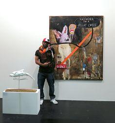 Ray Moore über seine Kunst – Interview auf der Blooom – Seit zwei Tagen hält sich nicht nur ein großer Teil des MuniqueART ...