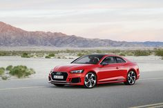 Audi launches 2017 RS5 Coupe in Europe, with prices starting from €80,900 in Germany.