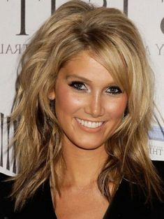 Image result for medium hair with choppy layers