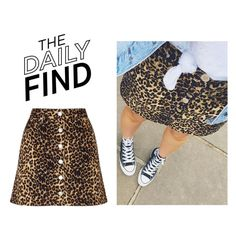 """The Daily Find: Miss Selfridge Skirt"" by polyvore-editorial ❤ liked on Polyvore featuring Miss Selfridge and DailyFind"